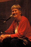 peggy-redsweater-onstage.jpg